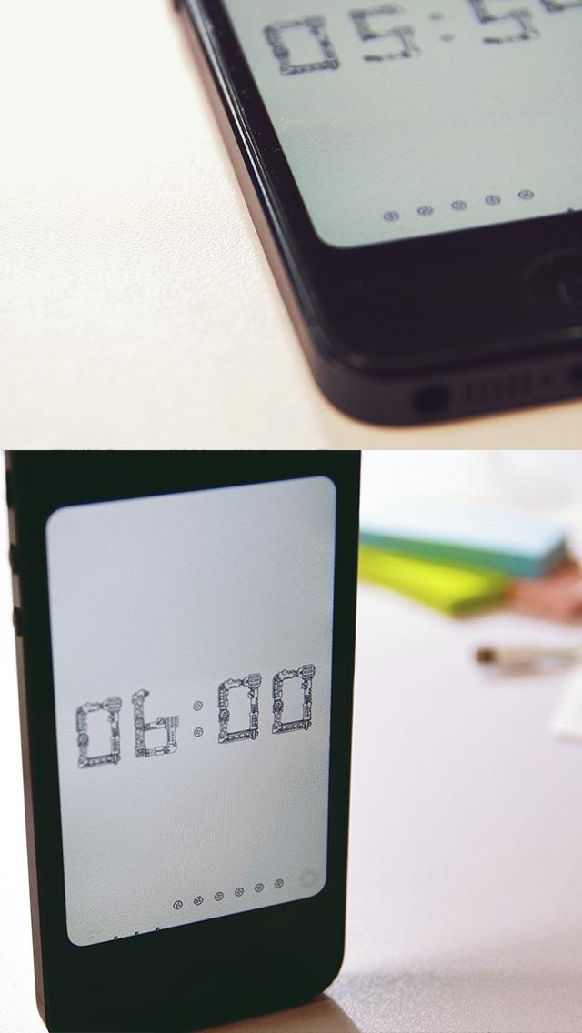 機械仕掛けの時計アプリ Liteのスクリーンショット3