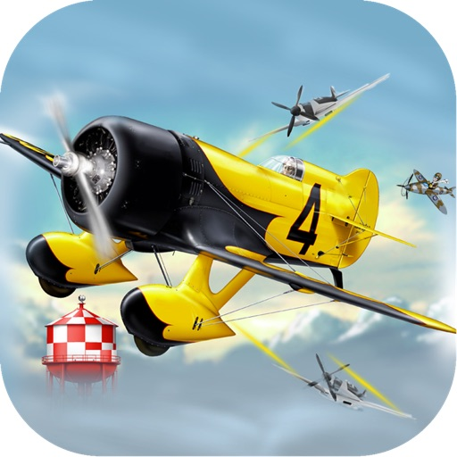 Enemy Airplane Tap Escape - Blow Up Flying Plane Sky Airplay War Pro