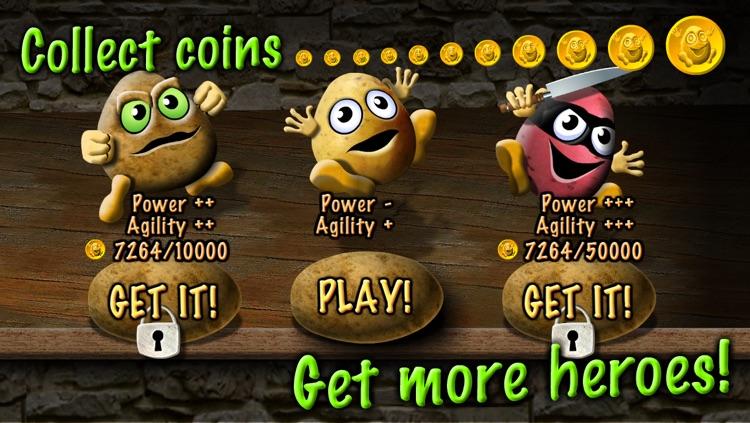 Potato Escape - One Touch Runner screenshot-4