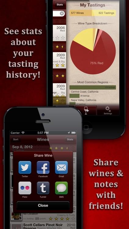 WineAlbum - Wine Tasting Notes screenshot-3