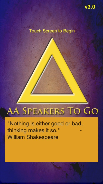 AA Speakers To Go - Alcoholics Anonymous