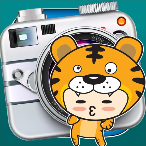 InstaFun Number One Photo Booth - A Funny Camera Editor with Awesome Manga and Anime Stickers for your Picture Image iOS App