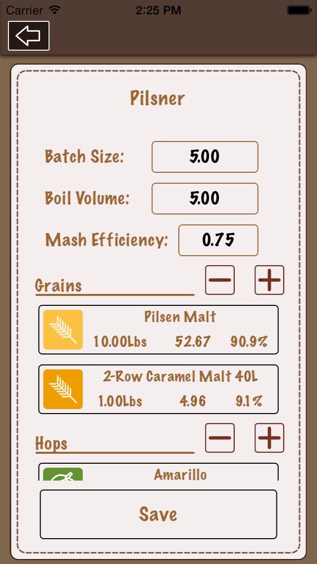 Beer recipe calculator lite by unagi apps llc food drink beer recipe calculator lite beer recipe calculator lite forumfinder Choice Image