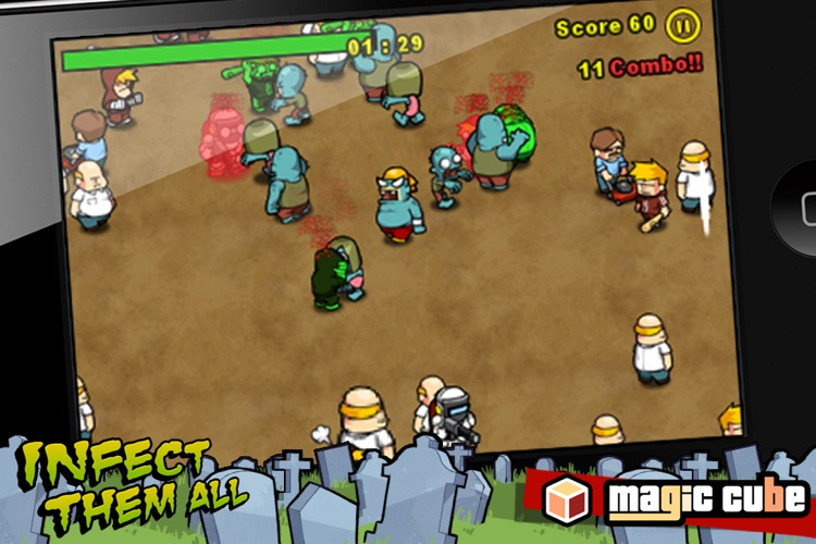 Infect Them All : Zombies screenshot-3
