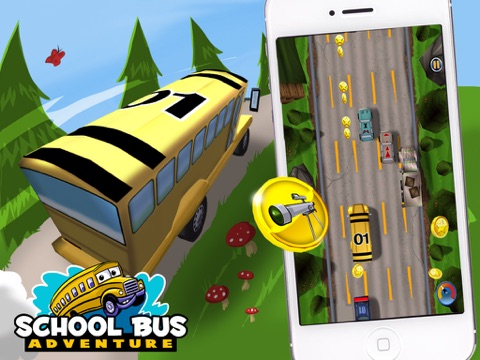 School Bus Adventure - Field Trip is a Fun 3D Driving Cartoon Game