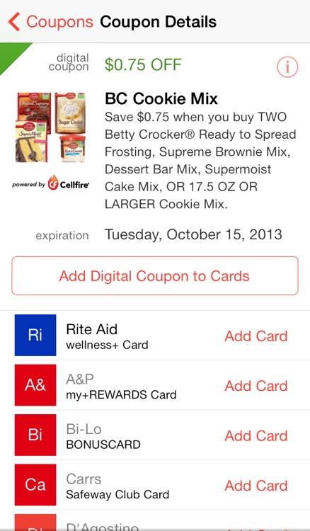 Pushpins Grocery Coupons & Lists screenshot-3