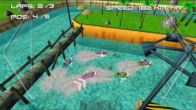 Boat Racing Challenge ( 3D Racing Games ) screenshot-3