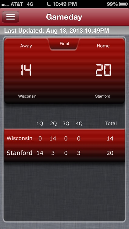 Stanford Football Live screenshot-4