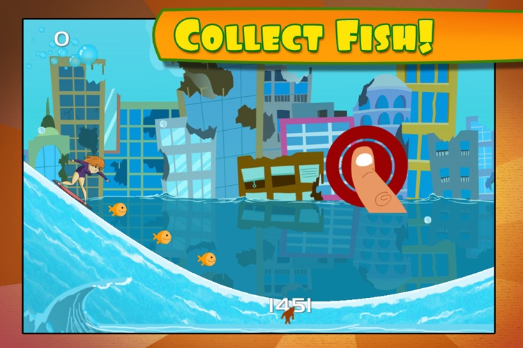Monster Wave: Death Crush Race  – Free Surf Racing Game for Kids