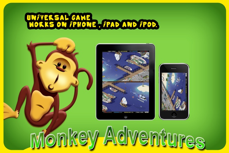Monkey Adventure HD screenshot-3