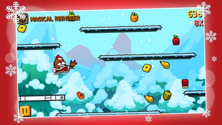 Run Tappy Run Xmas - Christmas Mission screenshot-1