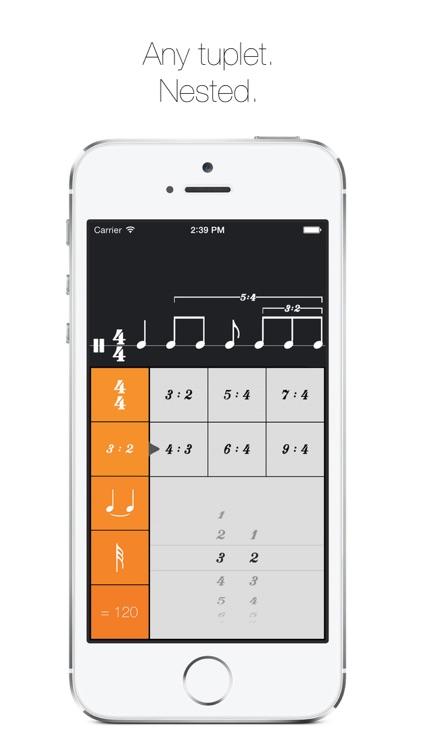 Rhythm Calculator - Advanced rhythm trainer and metronome screenshot-3