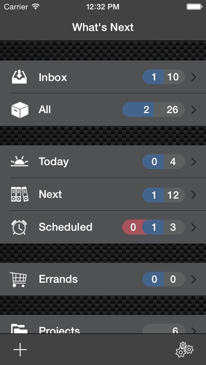 What's Next - Errands, Todo, Project and Task Manager - GTD, Getting More Things Done