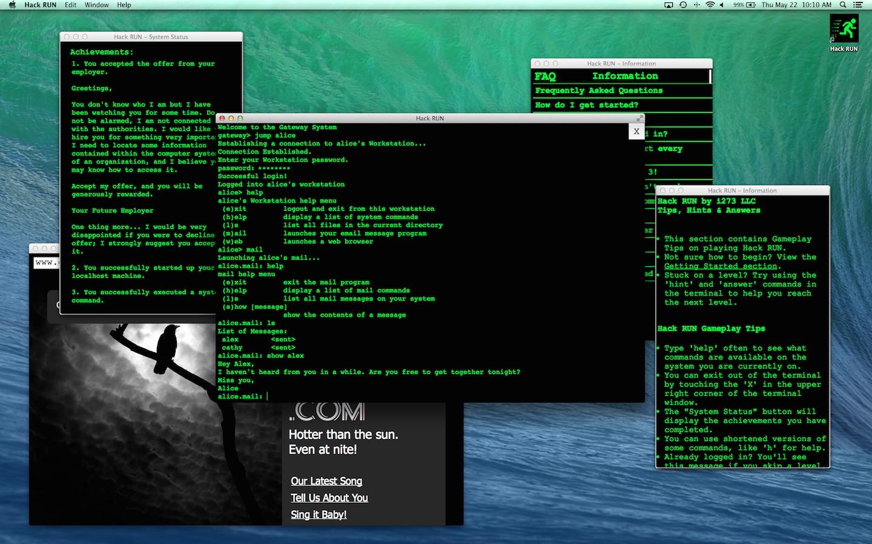 Screenshot do app Hack RUN