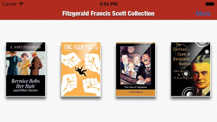 Fitzgerald Francis Scott Collection
