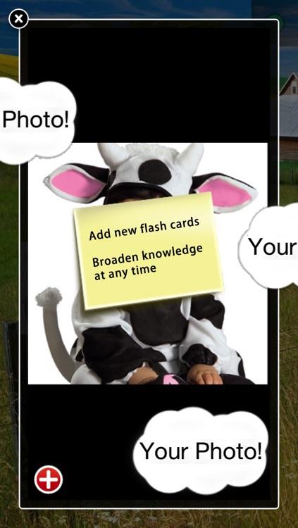 DIY Baby Flash Cards - Farm Animals screenshot-4