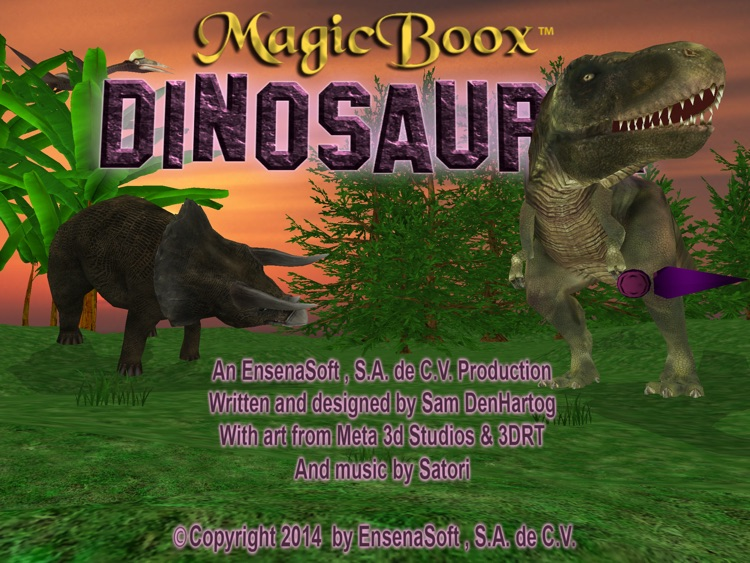 Magic Boox: Dinosauria screenshot-0