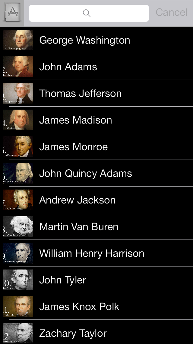 US Presidents V1 screenshot one