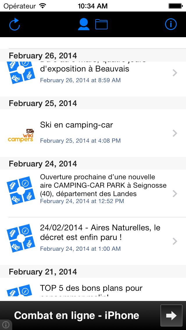 CampingCar News screenshot two