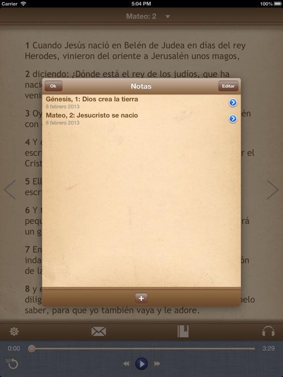 La Biblia Católica con audiobook para iPad screenshot-4