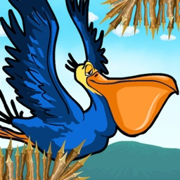 A Big Lazy Flying Pelican - Free Flappy Adventure Endless Game