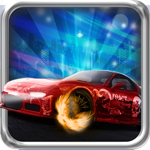 Nitro Night Car Race Free - Turbo Jet Edition icon