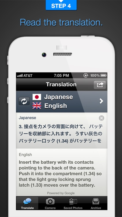 Babelshot: Translate Instantly Using Phone Camera screenshot-3