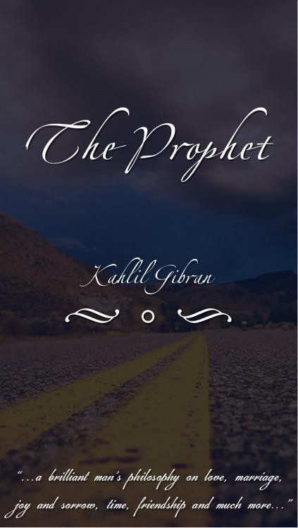 Kahlil Gibran's : The Prophet