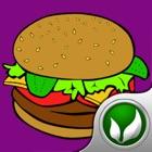 烹饪美味的食物:制作汉堡包免费 icon