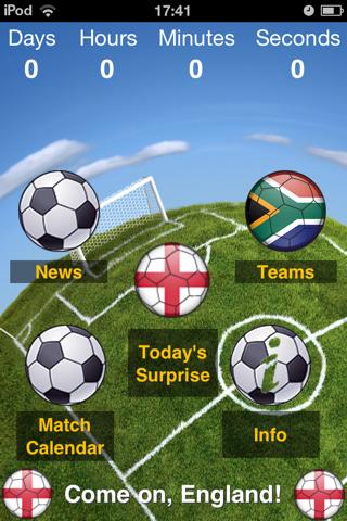 England World Football Calendar 2010 - Ultimate Supporter