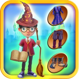 Fantasy Wizards Magical Dress Up Game - Free Edition