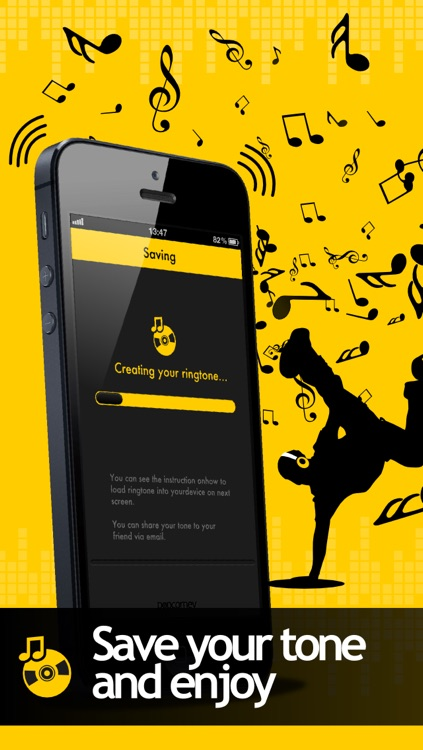 Bounce Tones Free - Personalize your own ringtone tones and alert tone screenshot-3