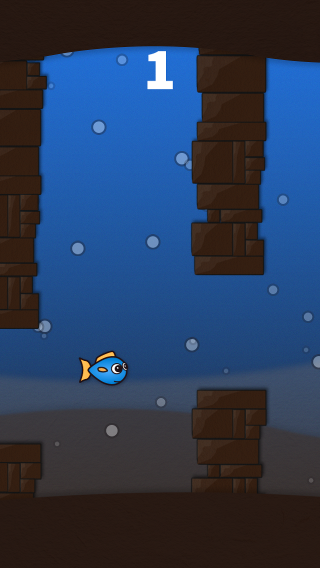 Flippy Fin screenshot two