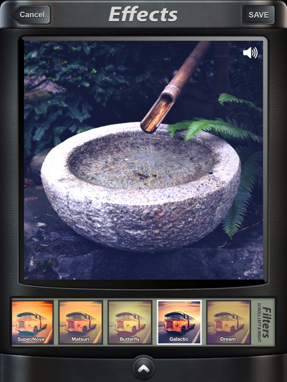 Camera SX for iPad : Photo with Sound