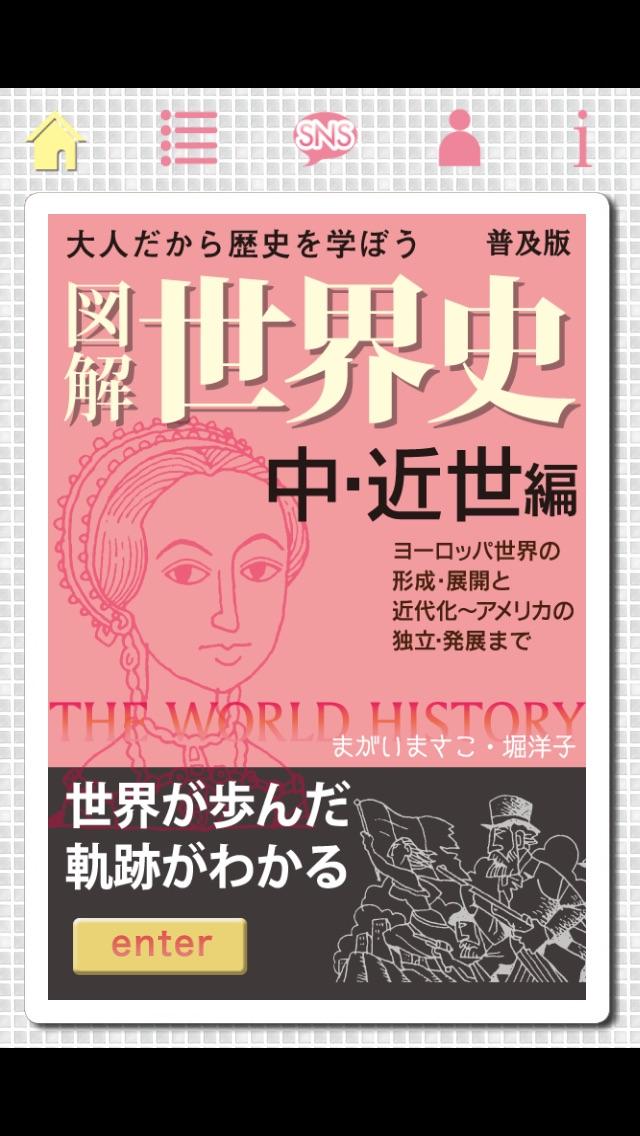 図解 世界史 中・近世編 screenshot1
