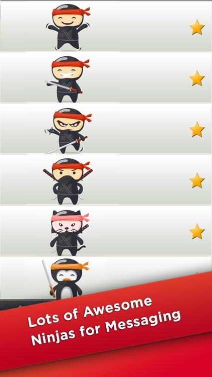 NinjaEmoji Free: Send Ninja Themed Emoticons for Text + Messages screenshot-3