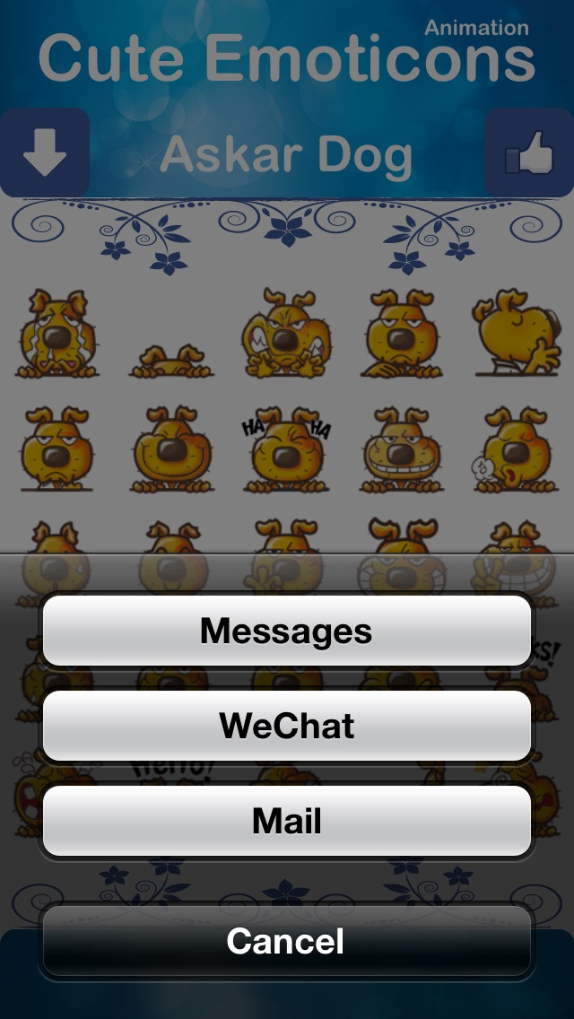 Cute Emoticons for LINE - Free Version-3