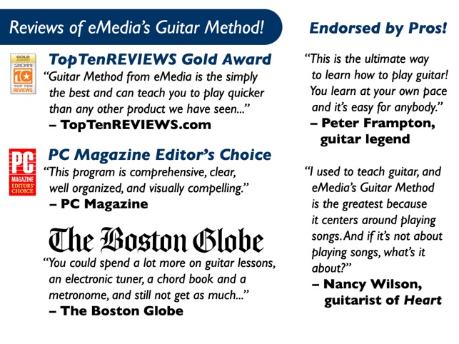 Emedia Guitar Method On The App Store