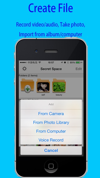 USB Disk-Protect Photo albums+Videos.Audios Player+Personal Document Viewer+File Share screenshot-3