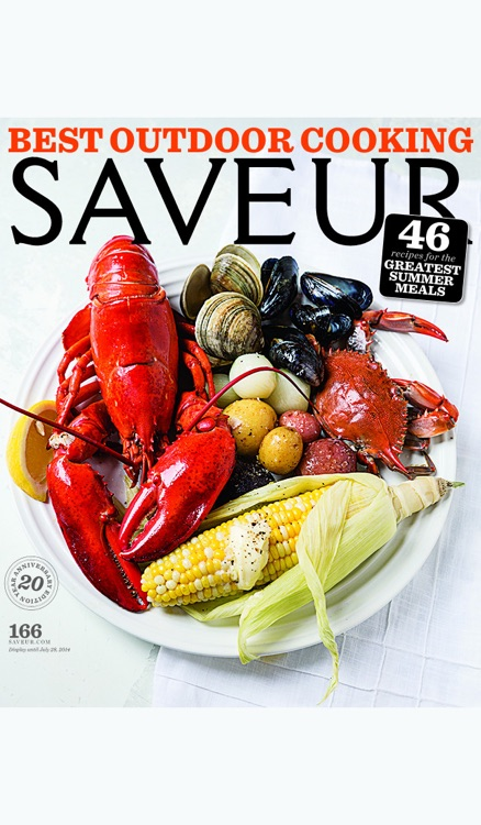 Saveur Magazine Archive screenshot-0