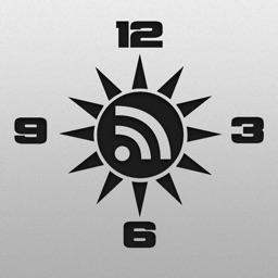 Clock Weather News