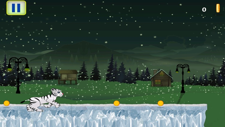 Baby White Tiger Snow Dash screenshot-3