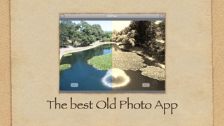 iOldPhoto Free - The best sepia tone camera