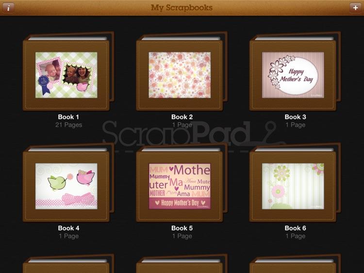 ScrapPad - Mothers Day Photo Journal screenshot-3