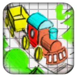 Doodle Train - Railroad Puzzler