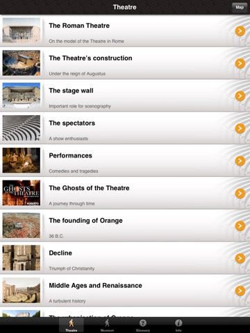 Screenshot #6 pour Roman Theatre and Museum of Orange: official application