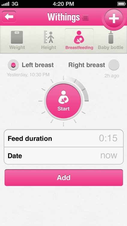 Withings Baby Companion screenshot-2