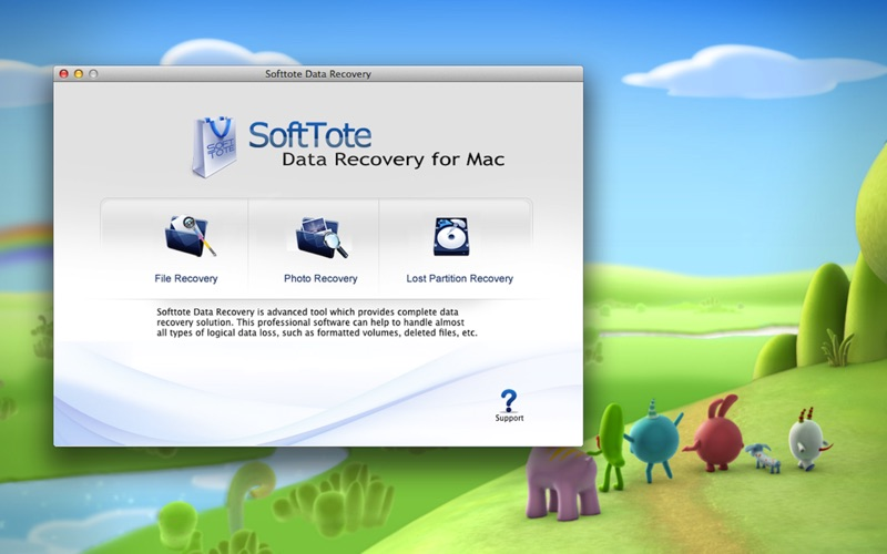 Softtote Data Recovery Screenshot