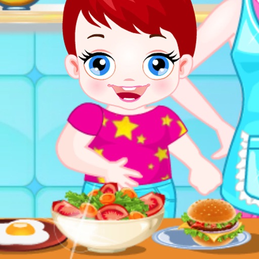 Baby Cooking Assistant - Help Mom to Make breakfast