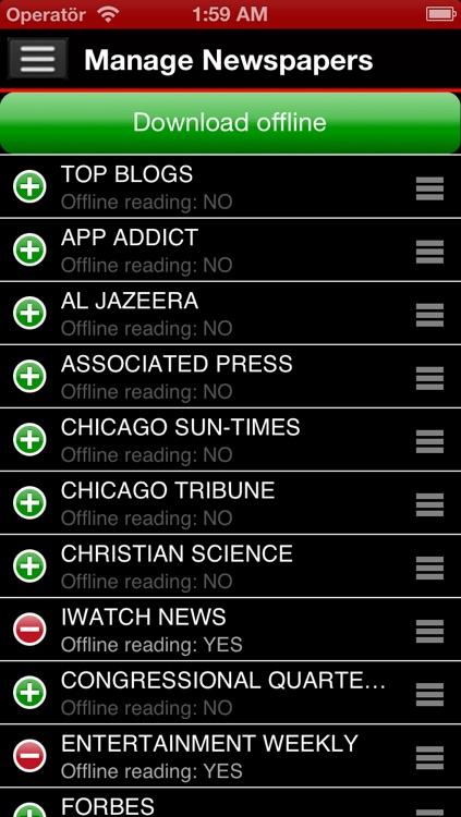 News Addicted screenshot-4